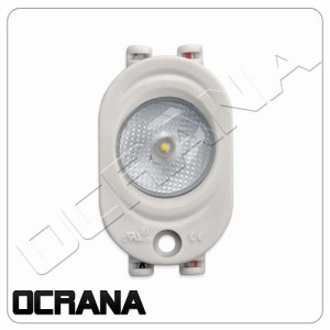 Moduł LED 12VDC Zimna biel DURIS® S5 OSRAM IP65 1W 170°